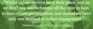 matthew Crozier online surveys